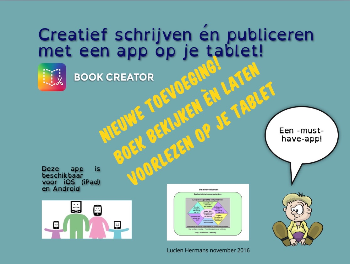 Bookcreator extra omslag