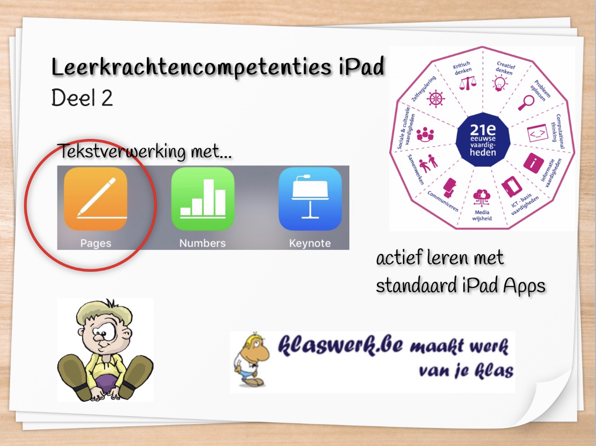 LKR competenties ipad 2